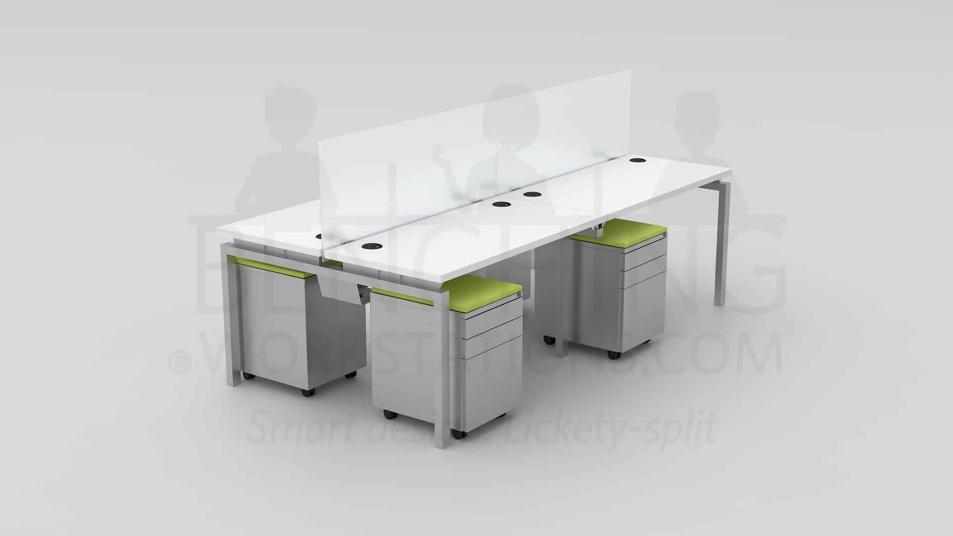 office pod furniture. pod seating for 4 open workstation office furniture